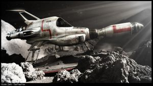 Interceptor - UFO Series by GGuIdOO
