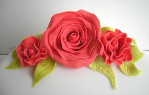 Fondant Flowers by bahgee