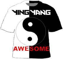Ying Yang awesome 2 by TigerJ15