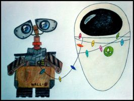 Walle and Eve by Omnosfera2D2