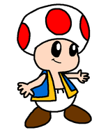 just a pic of toad by Bomberdrawer