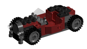 Lego Rat Rod Colored 4 by Tau-Crisis