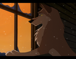 If only I looked more like a dog than a wolf by Hooshakosh