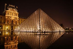 The Louvre at Night by dealived