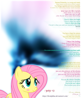 ''Adorable'' | My Fluttershy love-poem by BrodyBlue
