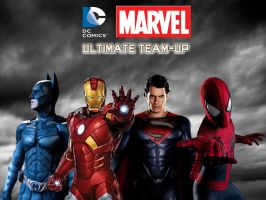 DC -Marvel Ultimate Team-Up by stick-man-11