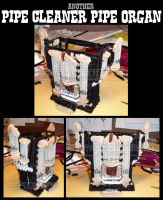 another Pipecleaner Pipe Organ by teblad