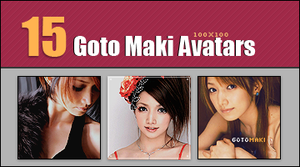 Goto Maki 100x100 Avatar Pack by BeforeIDecay1996
