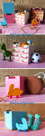 Dolls toy boxes by WalnutSprout