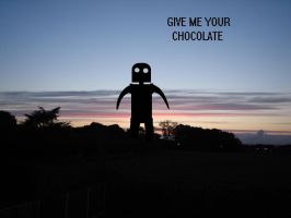 Give Chocolate by Lycanstrife