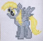 Stitched Derpy! by rehollys