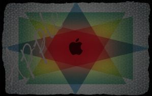 New style Apple wallpaper by kylegw99