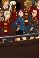 A Ravenclaw in Gryffindor by BonkuProductions