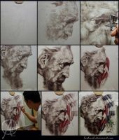 step by step airbrush tshirt by sasbrush