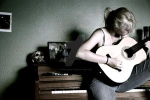 As My Guitar Gently Weeps by coralmcmurtry