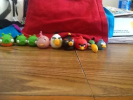Angry bird collection by Kyle-700