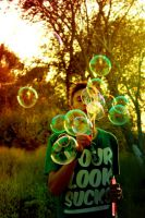 Playing with bubbles.II by Wicked-Lexie