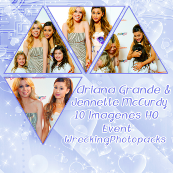 Photopack 209 - Ariana Grande y Jennette McCurdy by xbestphotopackseverr
