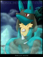 Moonlight Whisper - Lucario by Aonik