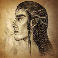 Fingon the Valiant, High King of the Noldor by ValkyriaCrafts