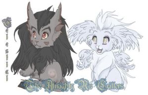 Animal critters by Celestynn