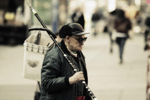 street fisherman by GudStufPhotography
