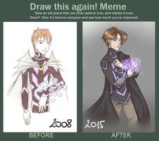 Before and After meme - Haymor by Lazriell