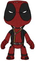 Deadpool + Little Big Planet by solarpowersoul