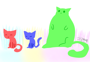 Cats by JezMM