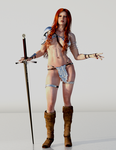 Red Sonja - What do I care? by Vad-mig-orolig
