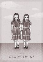The Grady Twins by ThePea