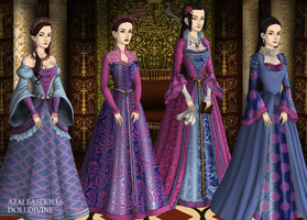 Princess Sisters by OperaticAnimeNimue