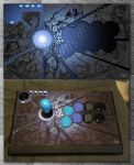 Qanba Q1 Fight Stick Mod by arsenalgearxx