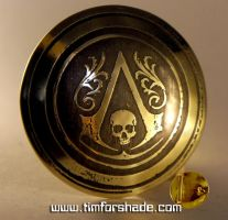 Assassin's creed brass belt buckle by TimforShade