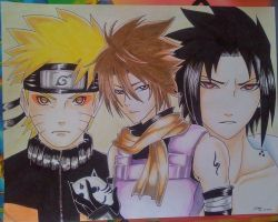 Naruto Shippuden (request) by draulemihawk