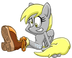 Sonitized Derpy Hooves by BlehMaster7