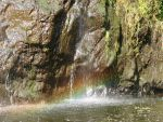 Rainbow in the Waterfall by girl1
