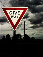 Give way for the storm. by west-end-riot