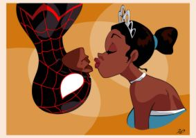 The Princess and the Spider by RickCelis
