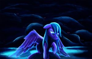 Alone in the Dark by Fox-Moonglow