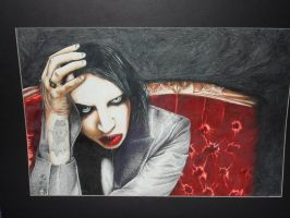 Marylin Manson by Pandemoniumswings