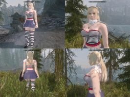 Lili Costume2 for Skyrim (Full body mod) by michaelvr4
