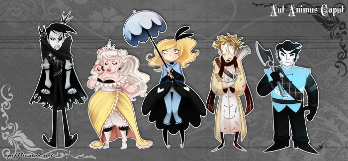 AAC - Line Up by MarionetteDolly