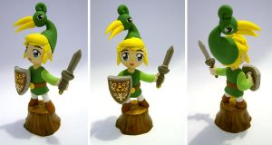 Link - The Minish Cap by vrlovecats