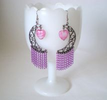 Moonlight Earrings by RetroRevivalBoutique