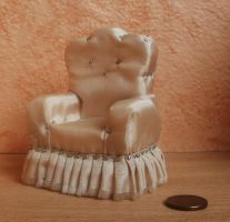 Miniature armchair by RevelloDrive1630
