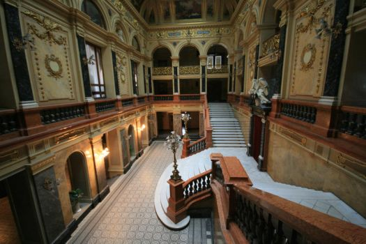 stairs in palace by doko-stock