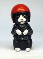 Biker Kitty color variation by Switchum
