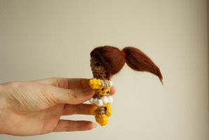 League of legends: crochet amigurumi Nidalee by tinyAlchemy