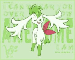 Thank Shaymin Time by espie